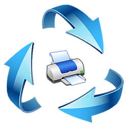 hp printer software update icon