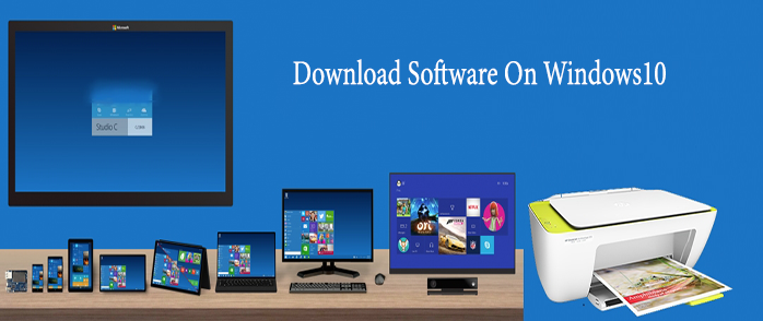how to download hp printer software for windows 10