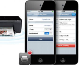 how to set up airprint on hp envy printer