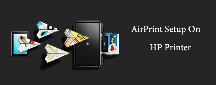 how to set up airprint on hp printer