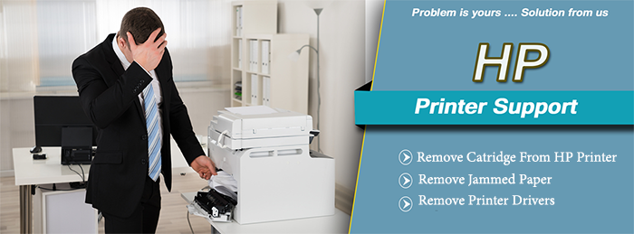 how to remove an ink cartridge from a hp printer