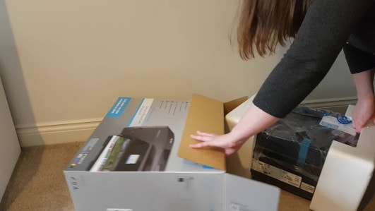 hp officejet 5255 unboxing