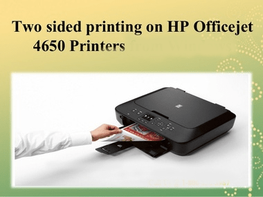 hp Officejet 4650 duplex printing