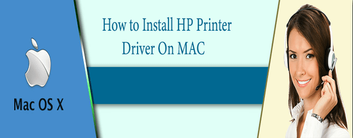 how to install hp printer driver on mac