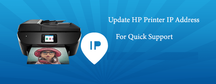 How To Update Hp Printer Ip Address