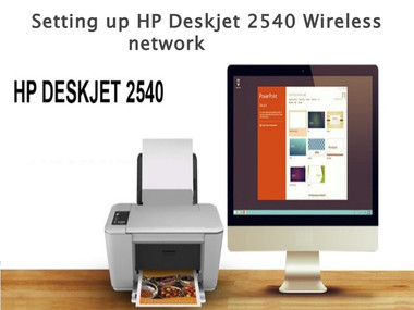 how to get wifi password for hp deskjet 2540