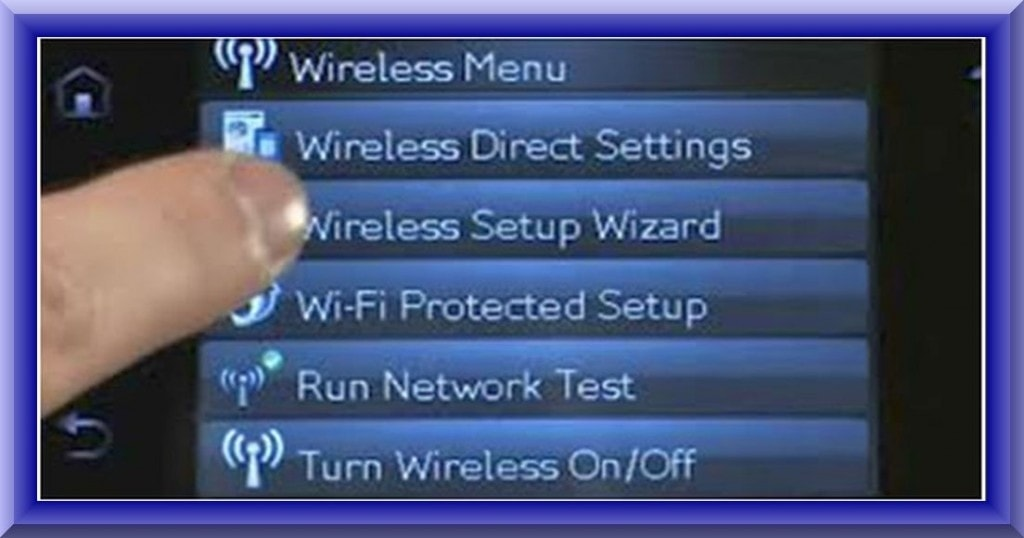 how to connect hp Photosmart 7520 to wifi