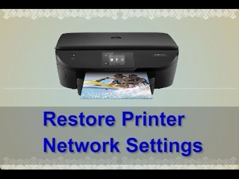 how to restore printer connection