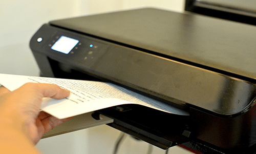 hp officejet 3830 copy document