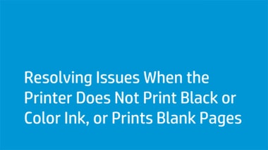 HP 2840 prints blank pages or yellow only