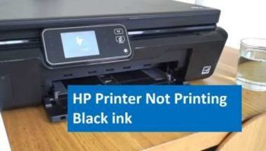 HP Envy 5540 printing blank pages