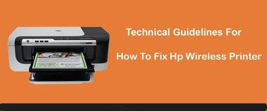 fix printer problems for a wireless printer