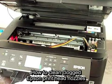 how to how to clean epson printhead manually