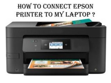 how to connect Epson printer to a laptop