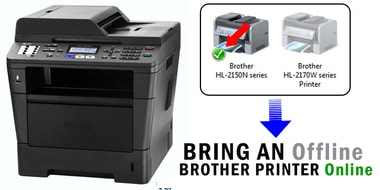 how to get brother printer online