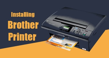 how to install brother printer