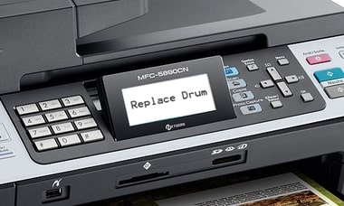 how to replace drum on brother printer