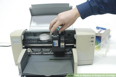 how to replace ink cartridge Epson