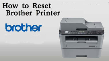 how to reset brother printer