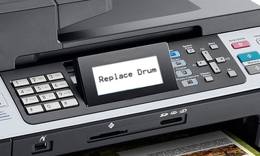 how to reset drum on brother printer