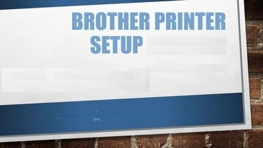 how to set up brother printer