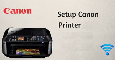 how to setup canon printer