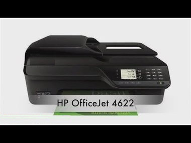 hp officejet 4622 printing blank pages