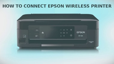 how to connect epson wireless printer
