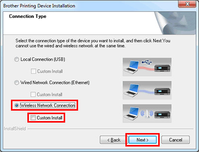 How to connect Brother printer to a computer wirelessly
