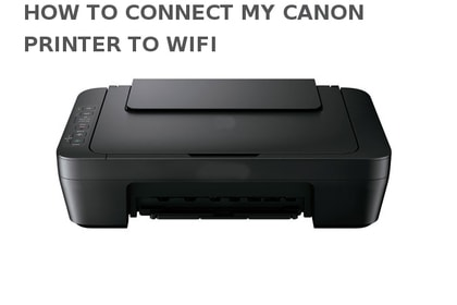 how to connect my canon printer to wifi