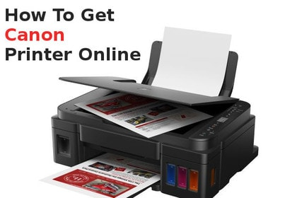 how to get canon printer online
