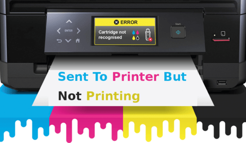 sent to printer but not printing