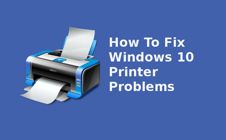 windows 10 printer problems