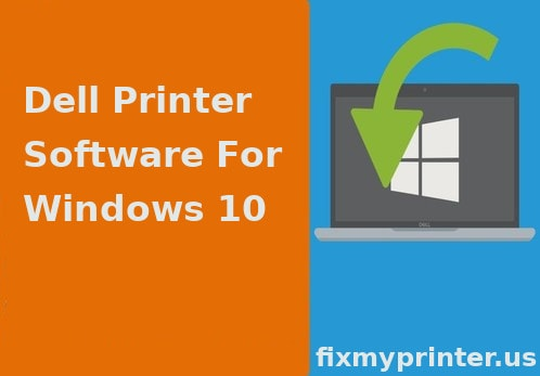 dell printer software for windows 10