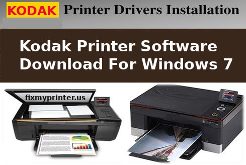 kodak printer software download for windows 7