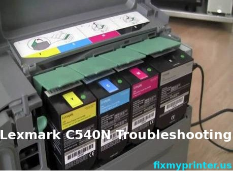 lexmark c540n troubleshooting