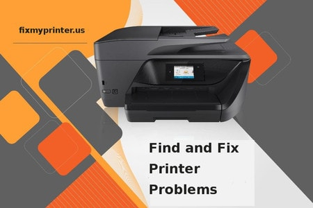 find and fix printer problems