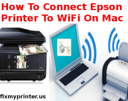 how to connect epson printer to wifi on mac