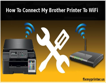 how to connect my brother printer to wifi