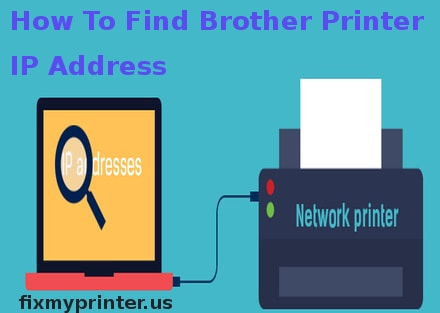 how to find brother printer ip address