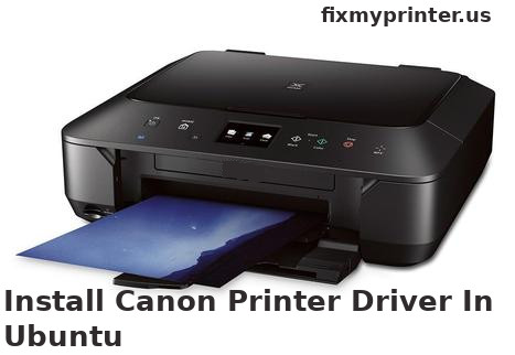 install canon printer driver in ubuntu