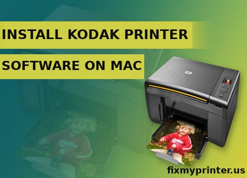 install kodak printer software on mac