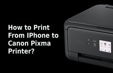 how to print from iphone to canon pixma printer