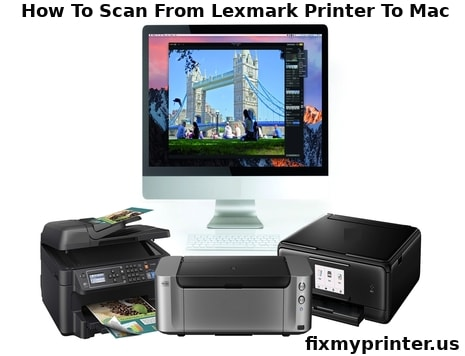 how to scan from lexmark printer to mac