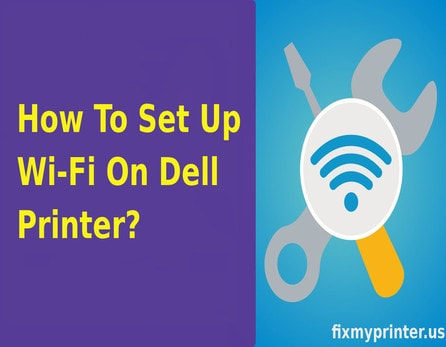 how to set up wifi on dell printer