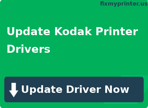 update kodak printer drivers
