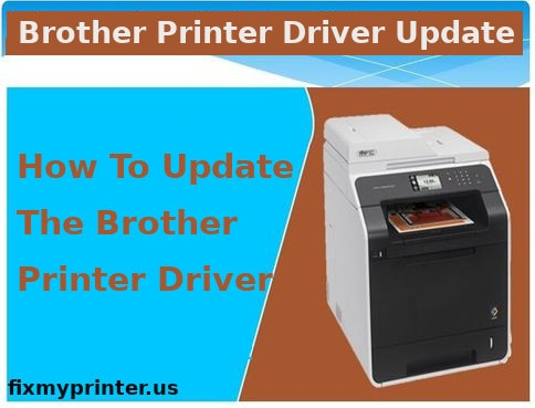 how to update the brother printer driver