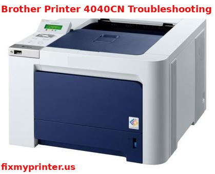brother printer 4040cn troubleshooting