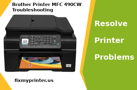 Brother Printer MFC 490CW Troubleshooting