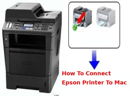 how to connect epson printer to mac